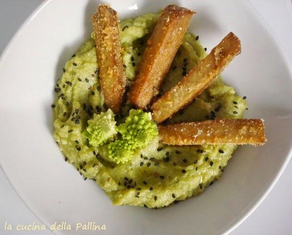 bastoncini-di-seitan-su-purè-di-broccolo_4