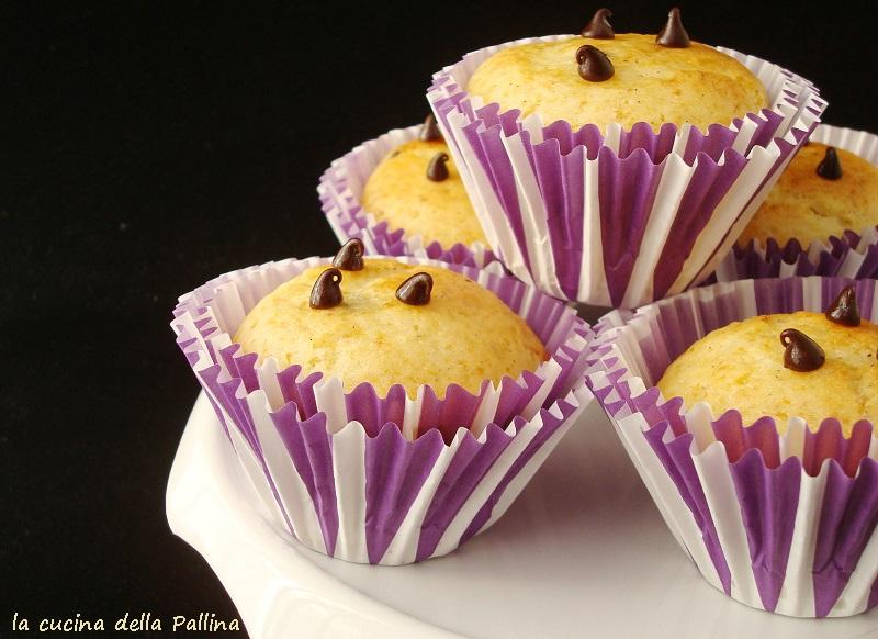 muffin, dolci, cioccolato