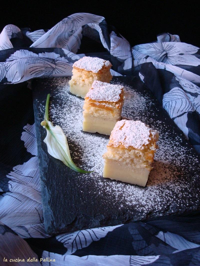 magic cake, torta magica, vaniglia, torte,