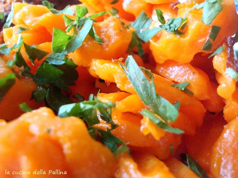 carote, prezzemolo,