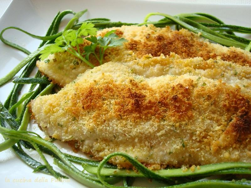 sogliola, panatura, parmigiano, fritto