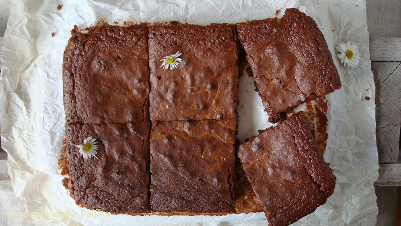 Brownies al cioccolato al latte