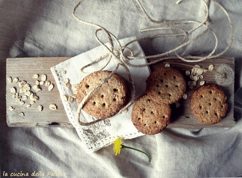 Biscotti digestive all'avena