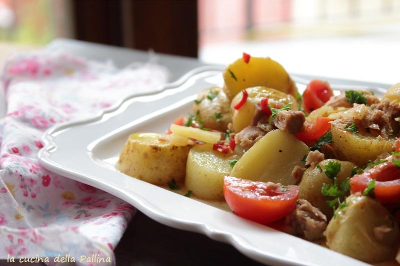 Insalata di patate novelle al microonde