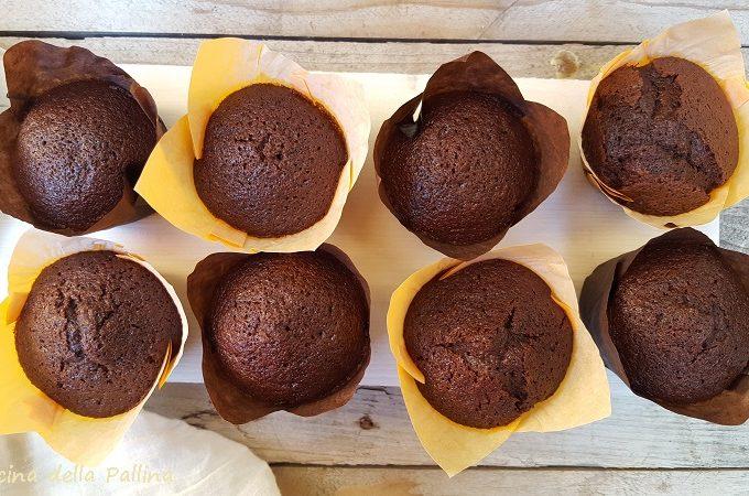 Muffins vegani al cioccolato