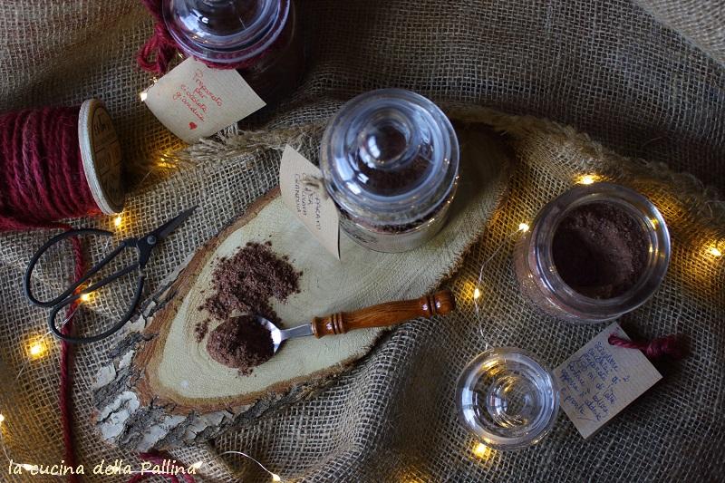 Preparato homemade per cioccolata gianduia